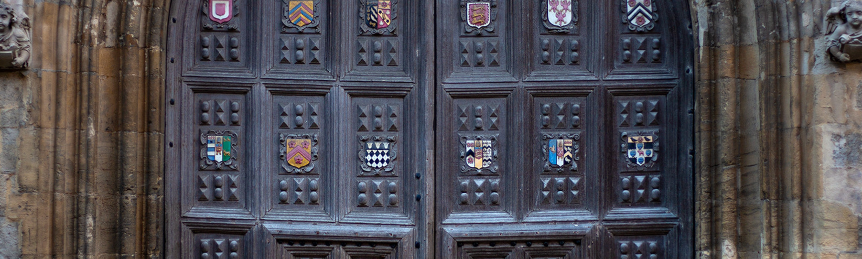 Bodleian entry door