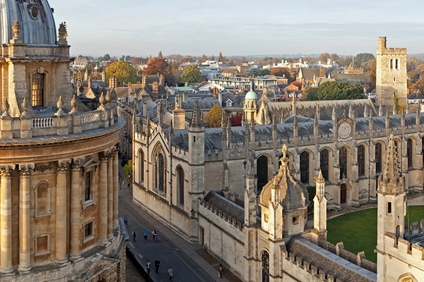 Radcliffe Camera Oxford skyline