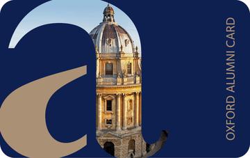 My Oxford card Alumni
