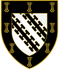 Exeter College coat of arms
